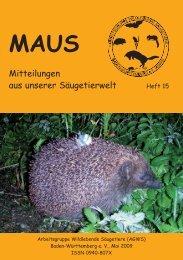 Maus Inhalt Heft 15 - Über die AGWS