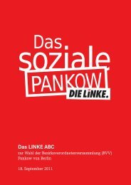 Pankow von Berlin - DIE LINKE. Pankow