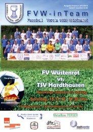 FV Wüstenrot vs. TSV Hardthausen - beim FV Wüstenrot