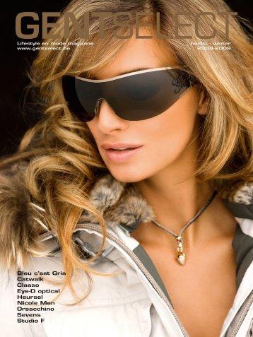 Bleu c'est Gris Catwalk Classo Eye-D optical Heursel Nicole Men ...