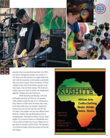 Summer Volume 2013 (Part II) - The Emerald Magazine