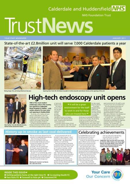 Endoscopy Unit: High-tech Endoscopy Unit Opens