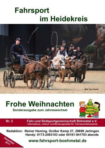 Fahrsport im Heidekreis Nr.3.pub - Fahr- und Reitsportgemeinschaft ...