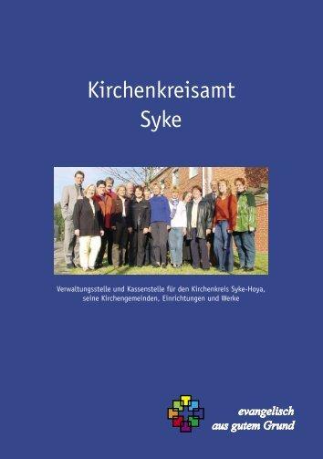 XI. Die Geschichte des Kirchenkreisamtes Syke - Evangelisch ...