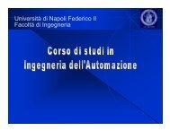 Università di Napoli Federico II Facoltà di Ingegneria - Prisma.unina.it