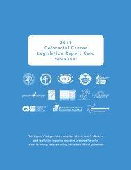 Front 2011 Colorectal Cancer Legislation Report Card - American ...