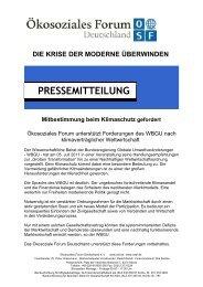 PRESSEMITTEILUNG PRESSEMITTEILUNG - Peter H. Grassmann