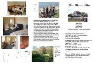 Prospekt der Ferienwohnung Britz - FeWo Britz