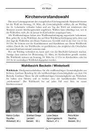 Kirchenvorstandswahl - Evangelisch-lutherischer Kirchenkreis Syke ...