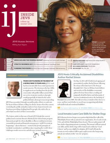 Summer 2011 issue - JEVS Human Services