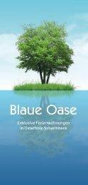 Blaue Oase