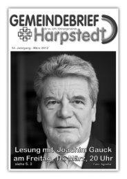 Gemeindebrief März 2012 - Evangelisch-lutherischer Kirchenkreis ...