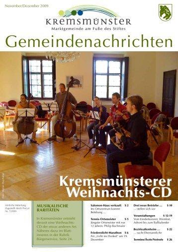 2,79 MB - Marktgemeinde Kremsmünster