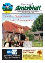 Telefon: 03 85/48 56 30 E-Mail - Amt Stralendorf