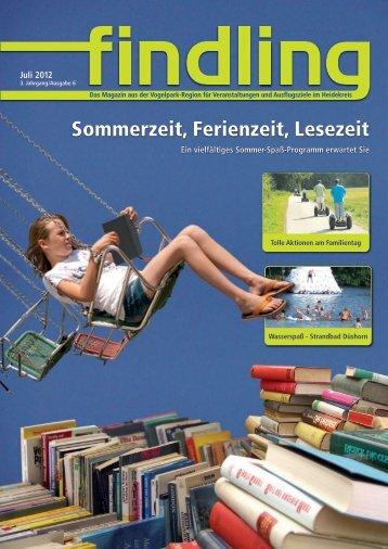 Sommerzeit, Ferienzeit, Lesezeit - der findling