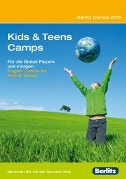 Kids & Teens Camps - Berlitz