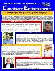ENDORSEMENT - Montana Chamber of Commerce