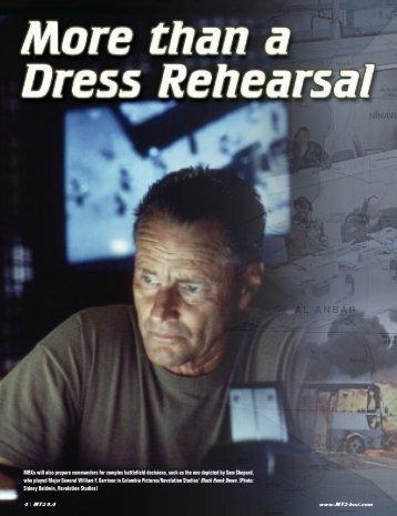 than a Dress Rehearsal - Training Transformation