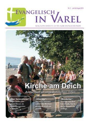 Kirche am Deich Kirche am Deich - Ev.-luth. Kirchengemeinde Varel