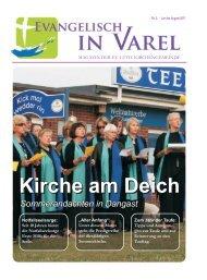 als Lesen der Epistel - Ev.-luth. Kirchengemeinde Varel