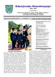 Gemeindeanzeiger 3-09 - Schneizlreuth