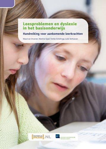 Leesproblemen en dyslexie in het basisonderwijs - Masterplan ...