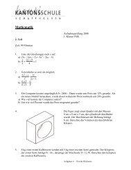 Mathematik FMS Teil 2 2008 (84.84 KB) - SchulArena.com