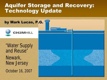 Percent Recharge Water Recovered