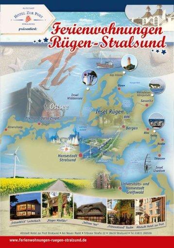 """Die Broschüre zu """"Ferienwohnungen Rügen ... - Hotel in Stralsund"""