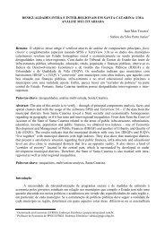 DESIGUALDADES INTRA E INTER-REGIONAIS EM SANTA ...