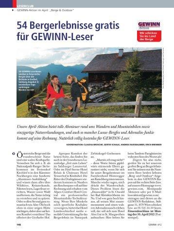 GEWINN-Kupon - Luxuslodge
