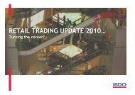 RETAIL TRADING UPDATE 2010… - UK.COM