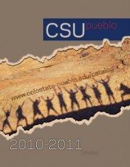 CSU-Pueblo 2010-2011 Catalog - Colorado State University-Pueblo