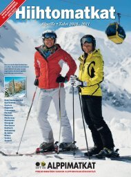 Alpeille • Talvi 2010–2011 - STS Alppimatkat