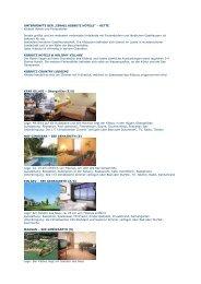 """UNTERKÜNFTE DER """"ISRAEL KIBBUTZ HOTELS"""" – KETTE ..."""