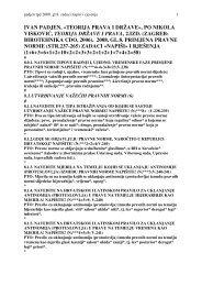 teorija prava i države», po nikola visković, teorija države i prava, 2 ...