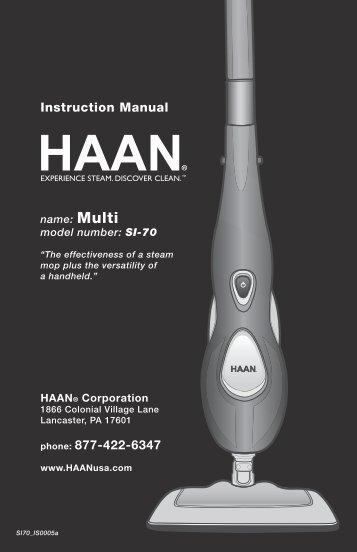 SI70 - HAAN Multi User Manual