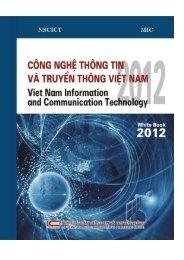 Sách trắng về CNTT-TT Việt Nam 2012 - Công nghiệp Công nghệ ...