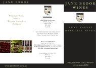 Jane Brook brochure February 2008.pmd