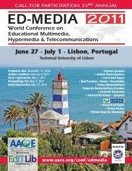 June 27 - July 1 - Lisbon, Portugal - Association for the ...