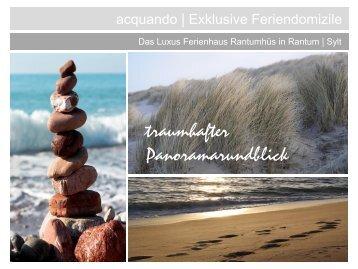 pdf Ferienhaus Rantumhüs - acquando