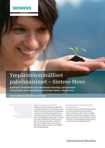 Ympäristöystävälliset paloilmaisimet – Sinteso Move - Siemens