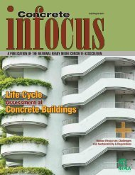 July / August 2011 - National Ready Mixed Concrete Association