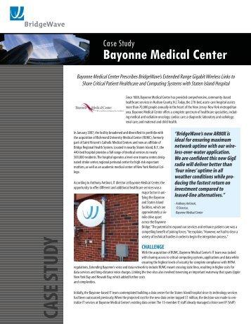 Case Study: Bayonne Medical Center - Winncom Technologies