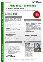 ADR 2011 - Workshop