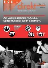 Auf-/Abstiegsrunde NLA/NLB. Spitzenfussball live in ... - FC Solothurn