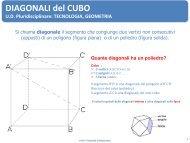 DIAGONALI del CUBO - Currarini.eu