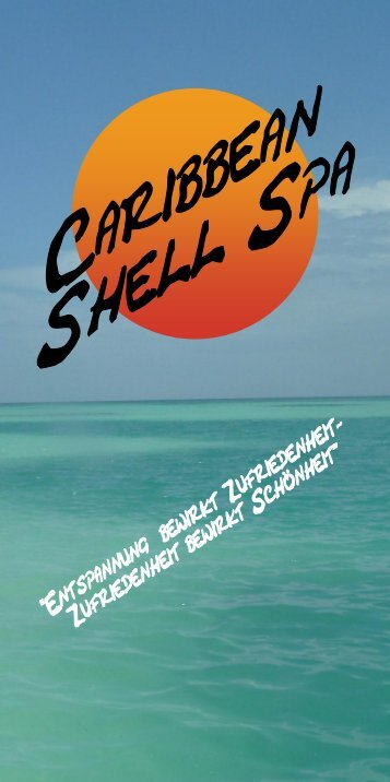 mein Aktueller Flyer! - Caribbean Shell Spa