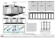 3x3 unibox booth standards
