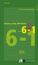 Achtung, fertig, Mittelstufe Deutsch 6-1